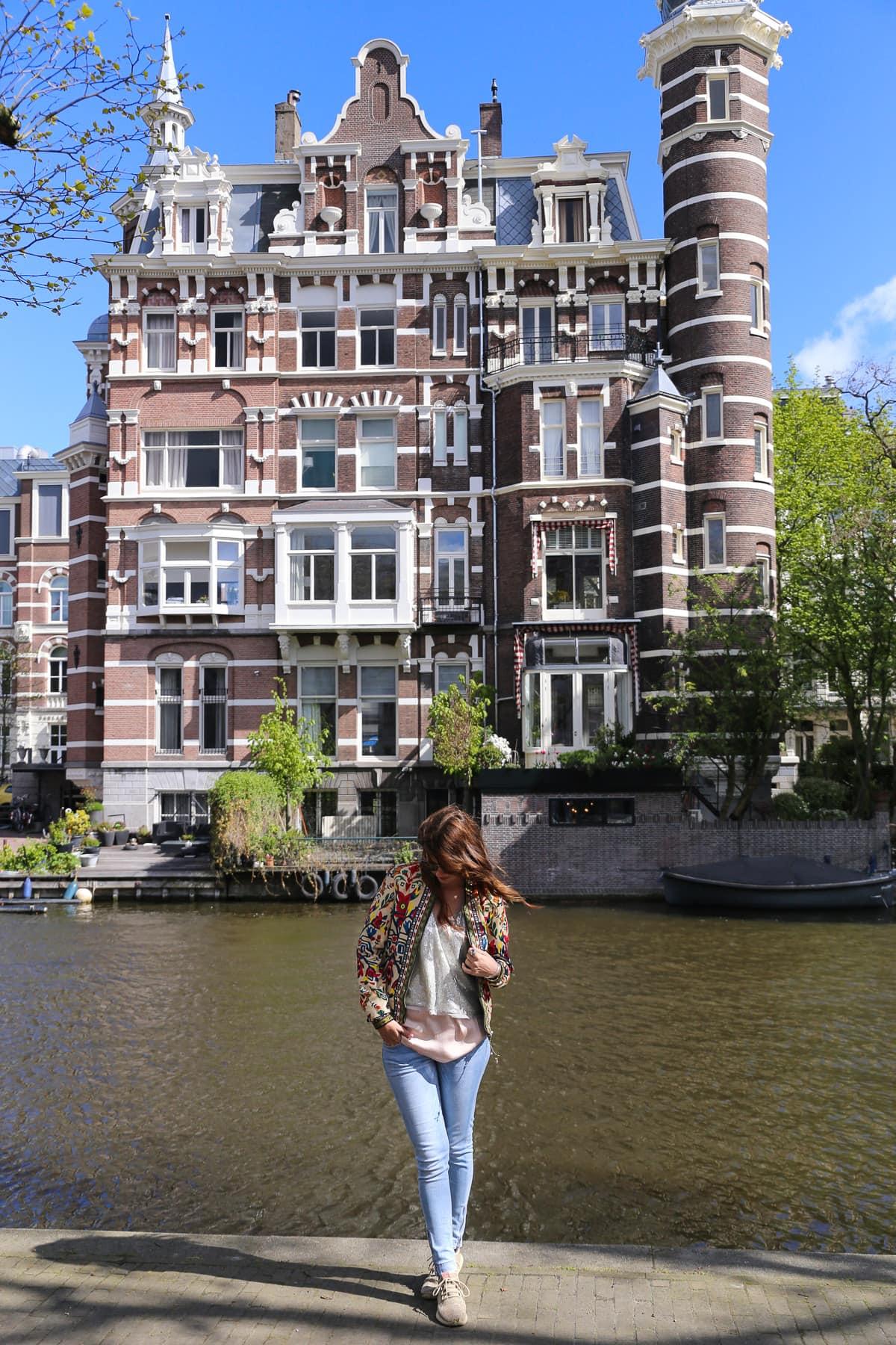 Sightseeing in Amsterdam - Adidas Tubular Shadow