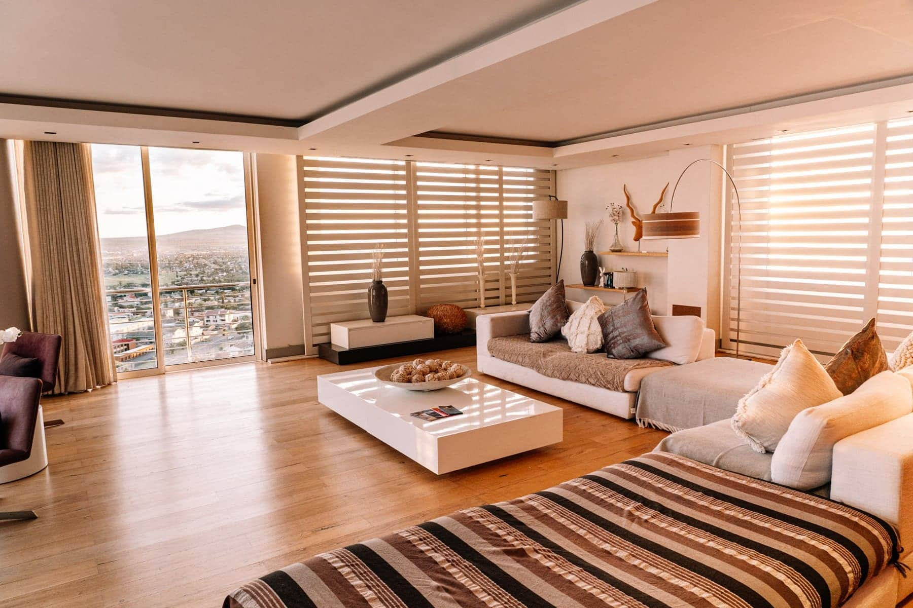 Kapstadt Insidertipps - Wohnzimmer Penthouse on Beach Blouberg Bay Soul Private Collection