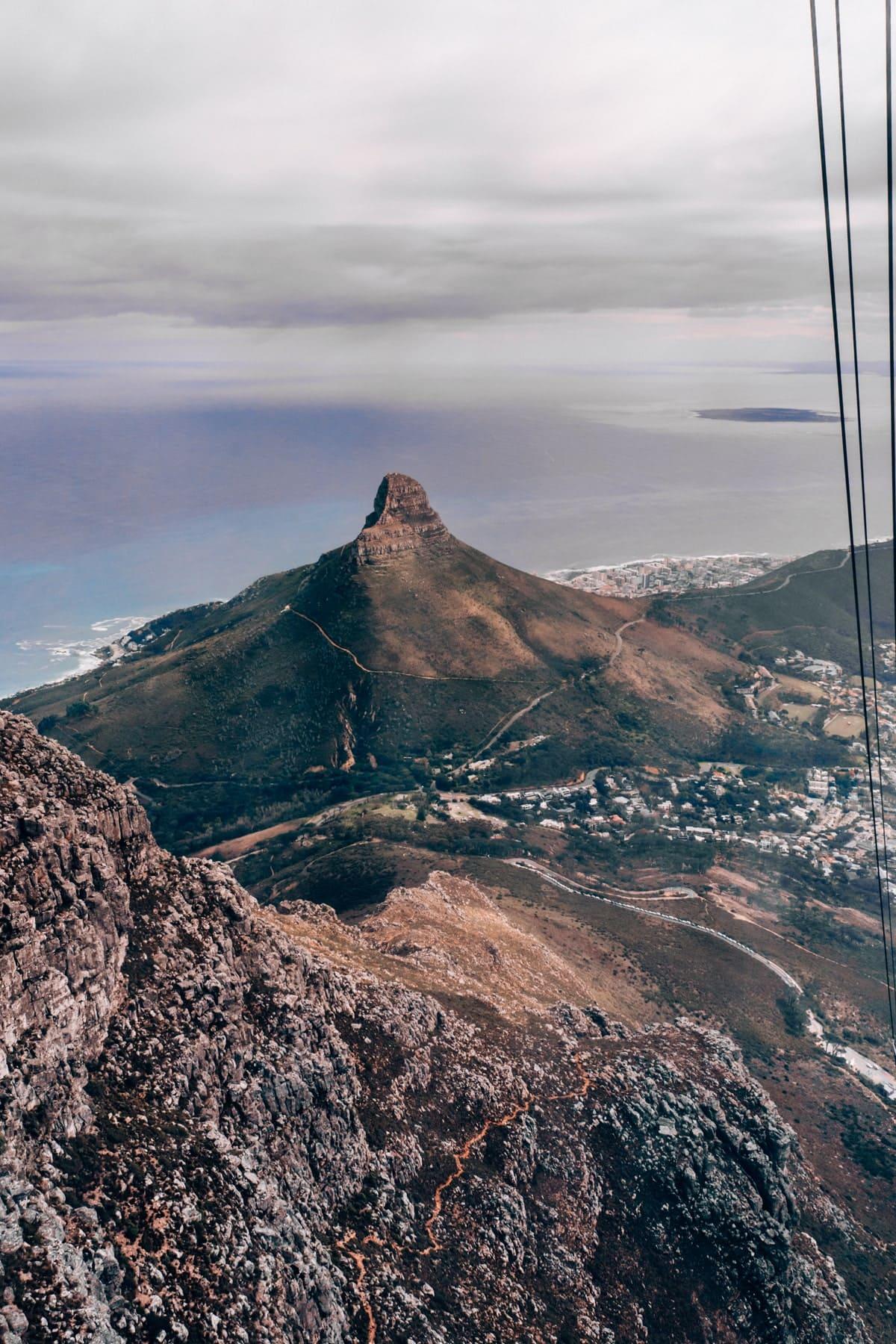 Kapstadt Insidertipps - Mit der Seilbahn auf den Tafelberg fahren