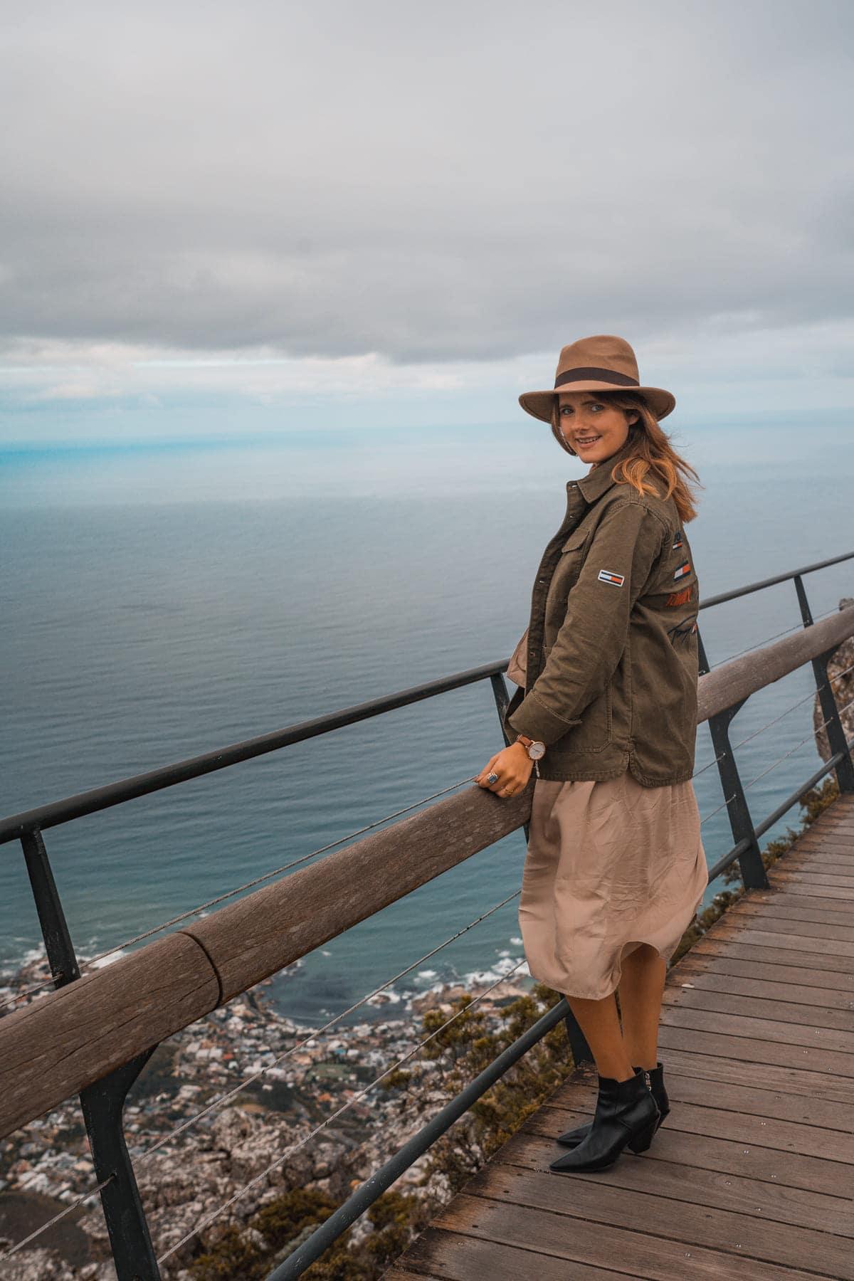 Kapstadt Tipps in 72 Stunden - Ausblick vom Tafelberg auf Cape Town