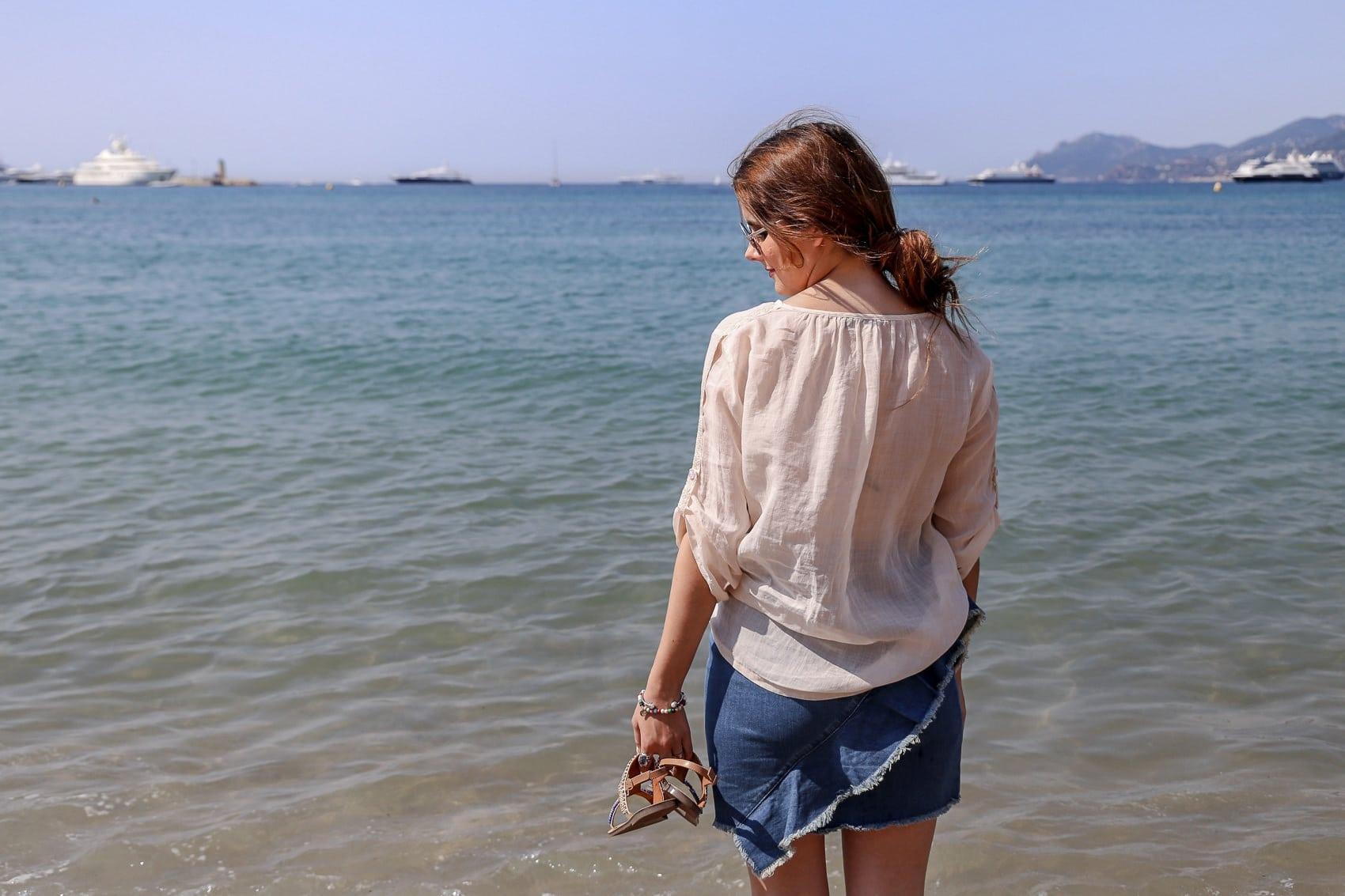 Filmfestspiele in Cannes - Entspannter Strandlook an der Cote d'Azur