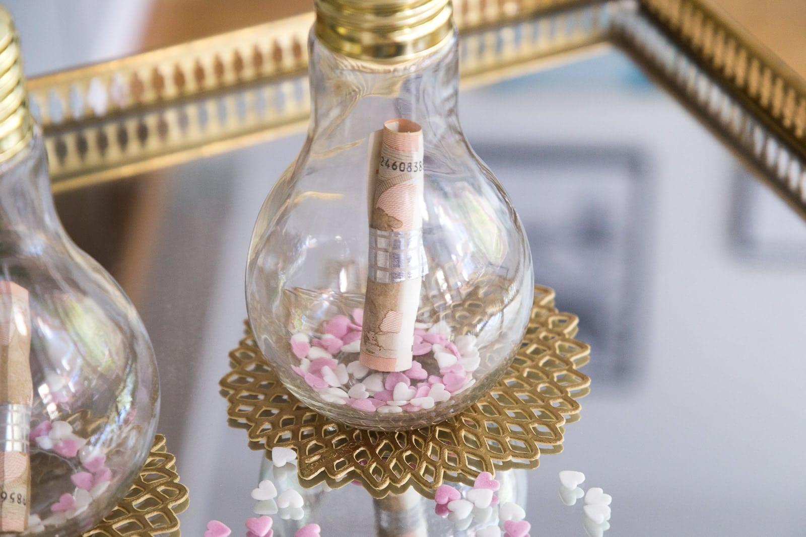 Hochzeitsgeschenke - Zwei Ideen für ein DIY Geldgeschenk