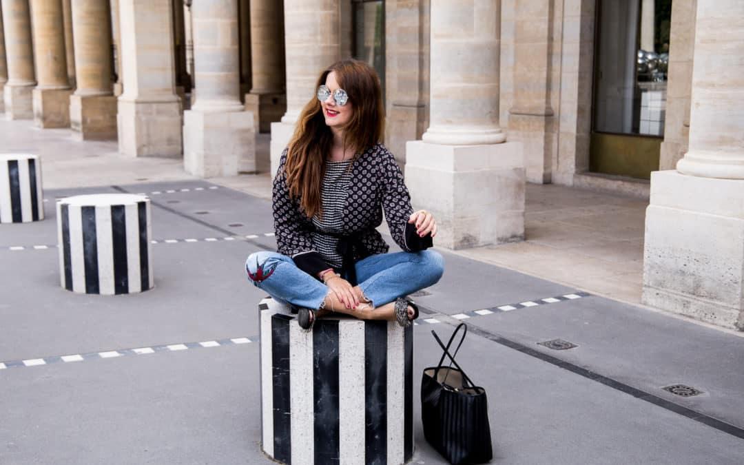 Paris Palais Royal – Der Pantoletten Trend 2017