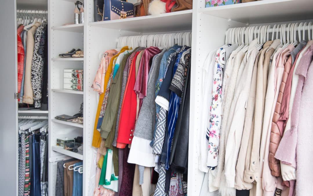 Arbeitszimmer & Ankleidezimmer – Arbeitsplatz als Vollzeit-Blogger