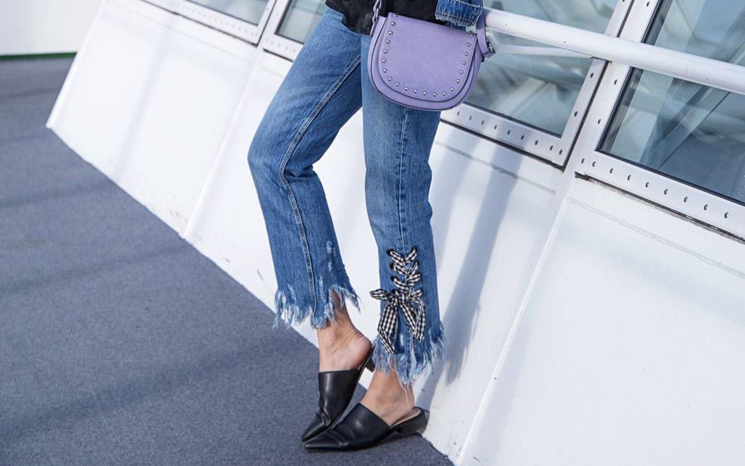 So trägst du DIE Zara Jeans mit ausgefranstem Saum!