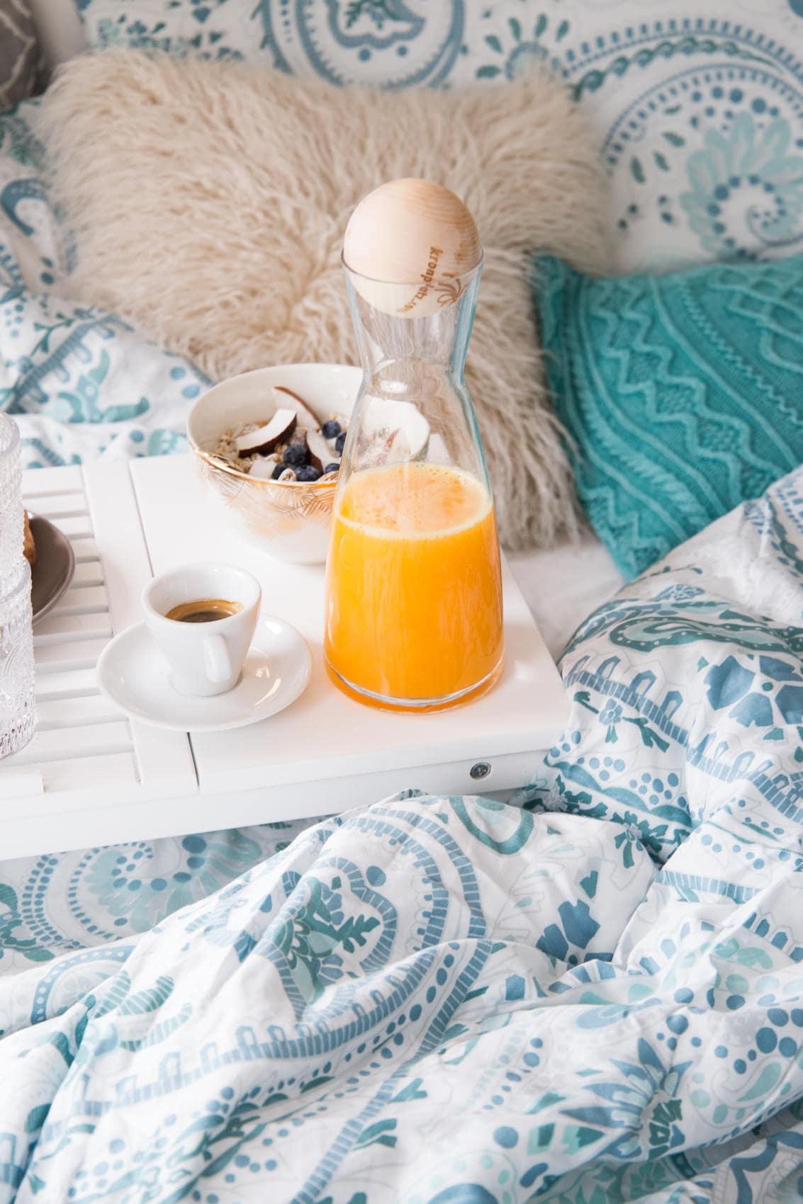 So einfach kreierst du das perfekte Frühstück im Bett!