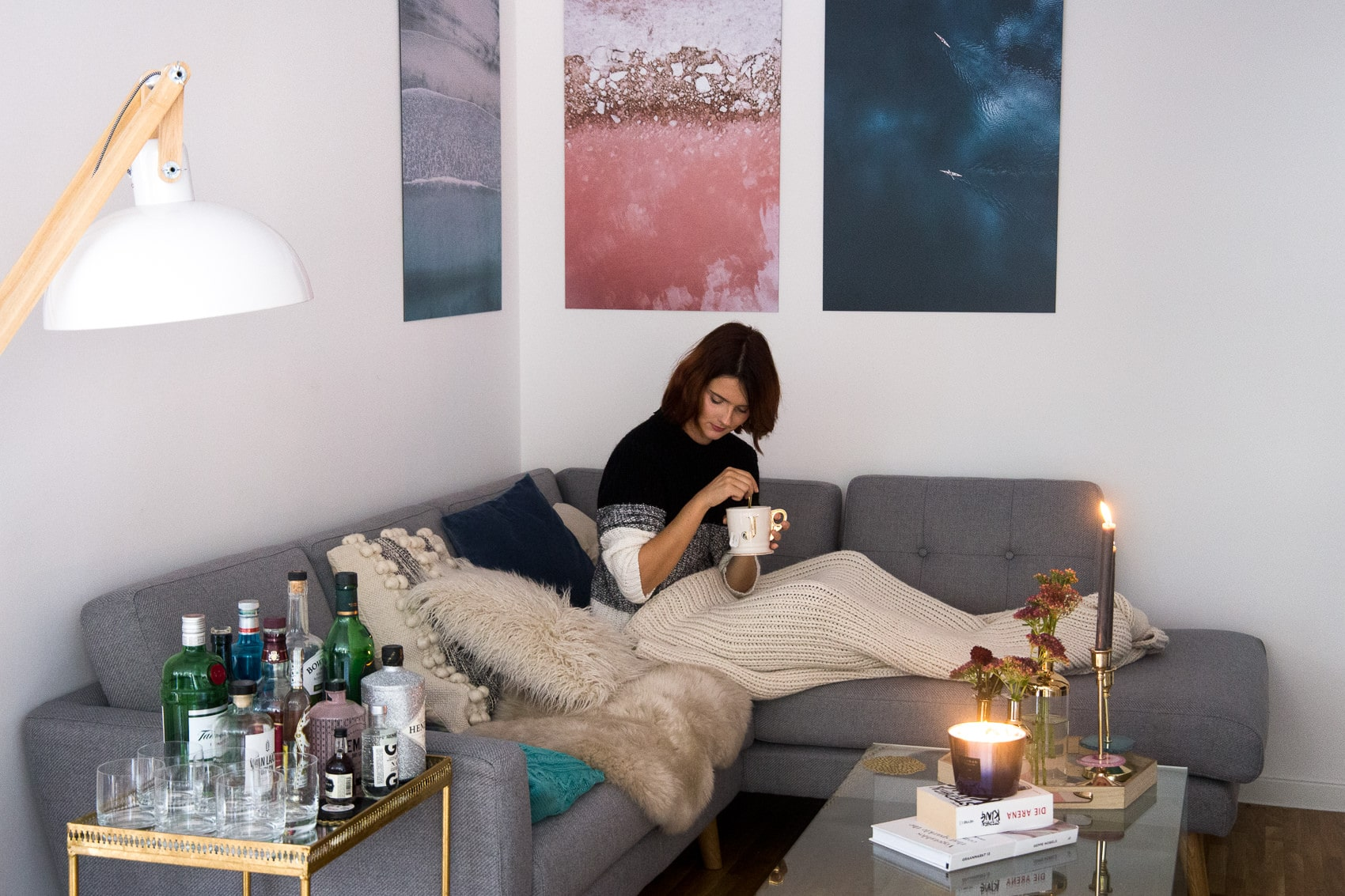 Interior Ideen für den Winter: Alu-Dibond Bilder von Juniqe