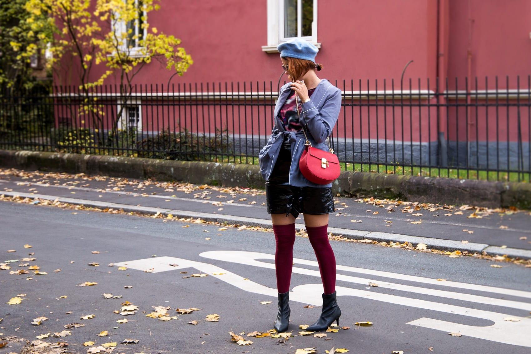 C'est la vie, chérie: Parisienne Look mit Fashionette & Chloé Drew Bag in Rot