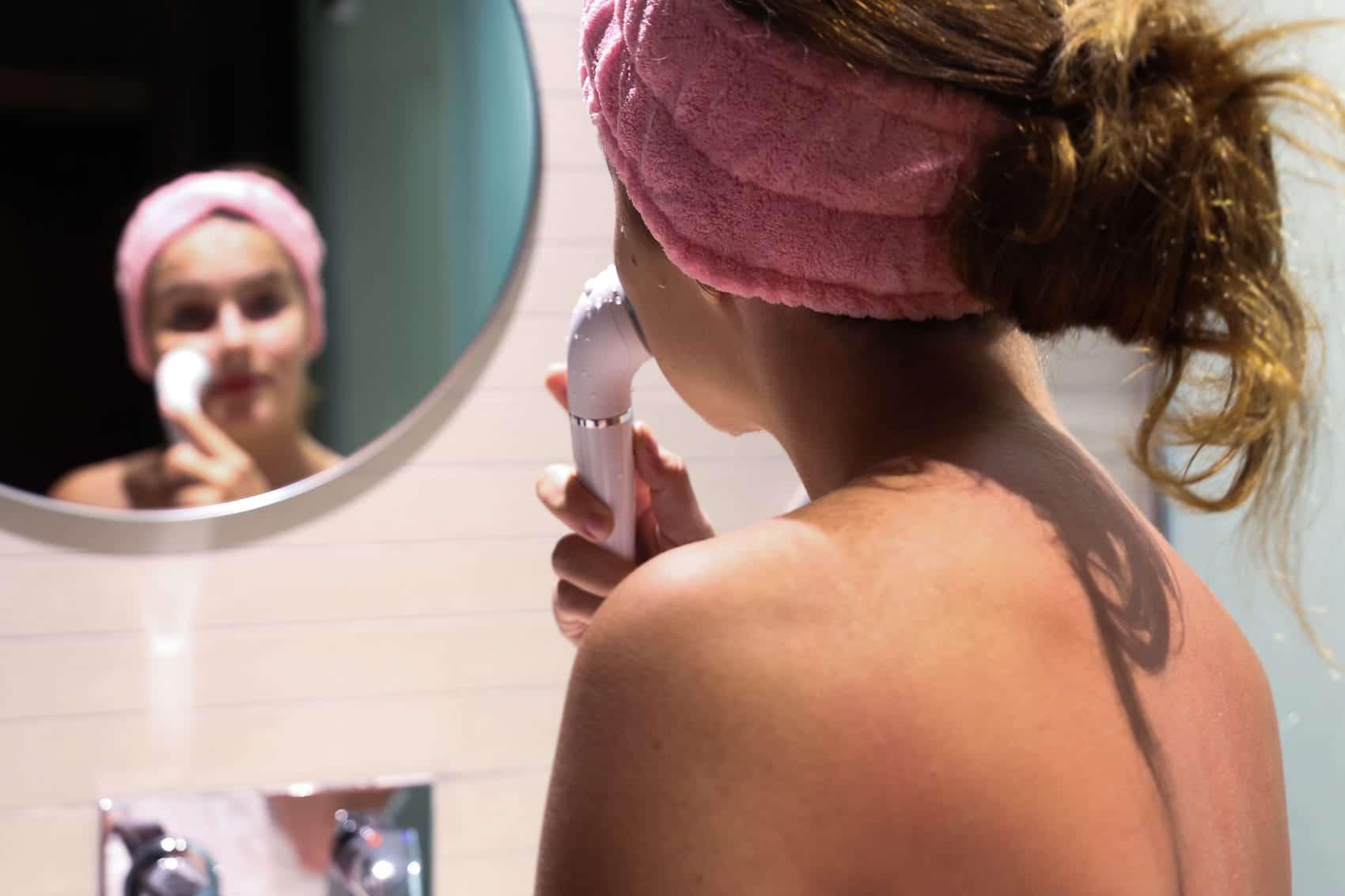 Meine aktuelle Beauty Routine auf Reisen mit dem Braun Face Spa
