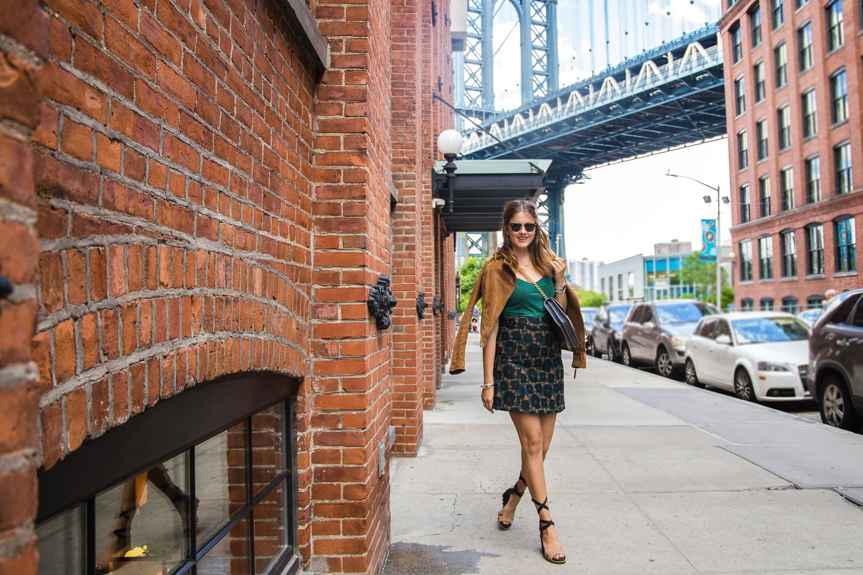 Brooklyn Dumbo Streetstyle - DIE Location für alle Gossip Girl Fans