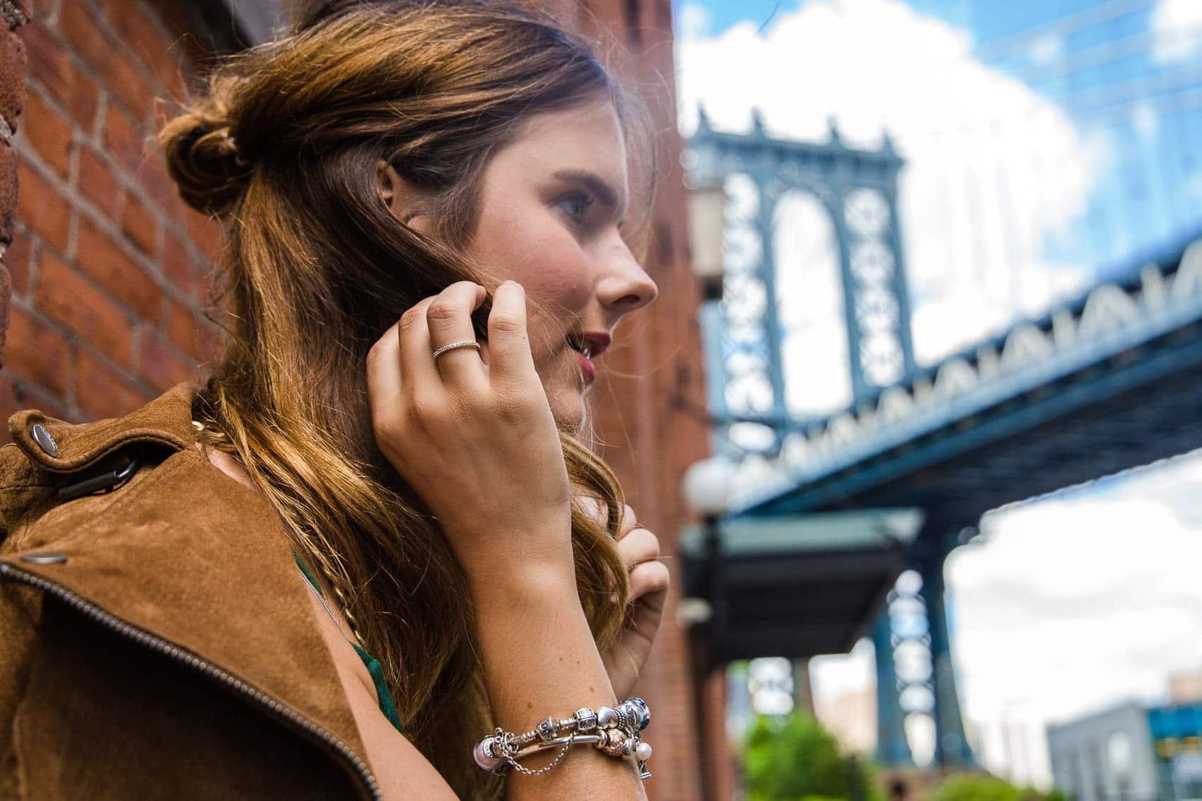 Brooklyn Dumbo Streetstyle - DIE Location für alle Gossip Girl Fans
