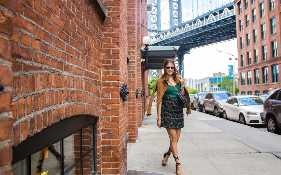 Brooklyn Dumbo Streetstyle – DIE  Location für alle Gossip Girl Fans