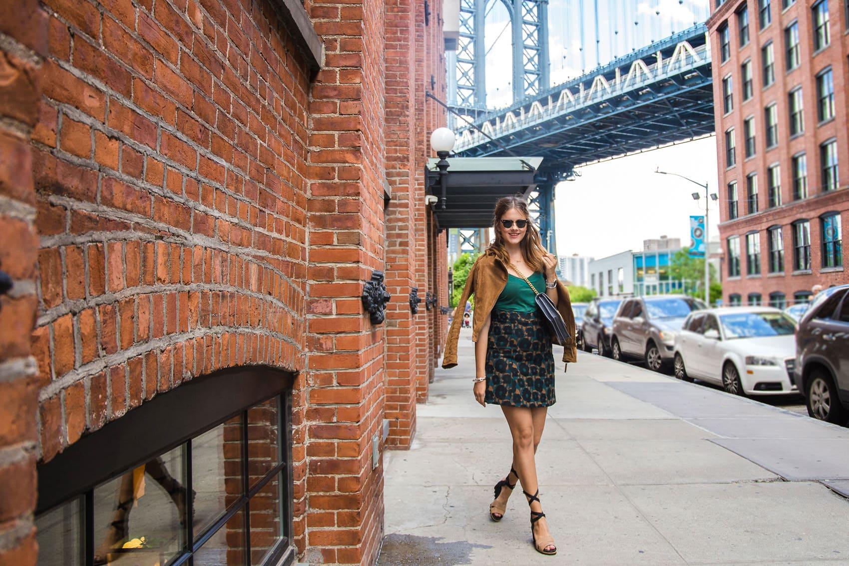 Brooklyn Dumbo Streetstyle Die Location F R Alle Gossip Girl Fans