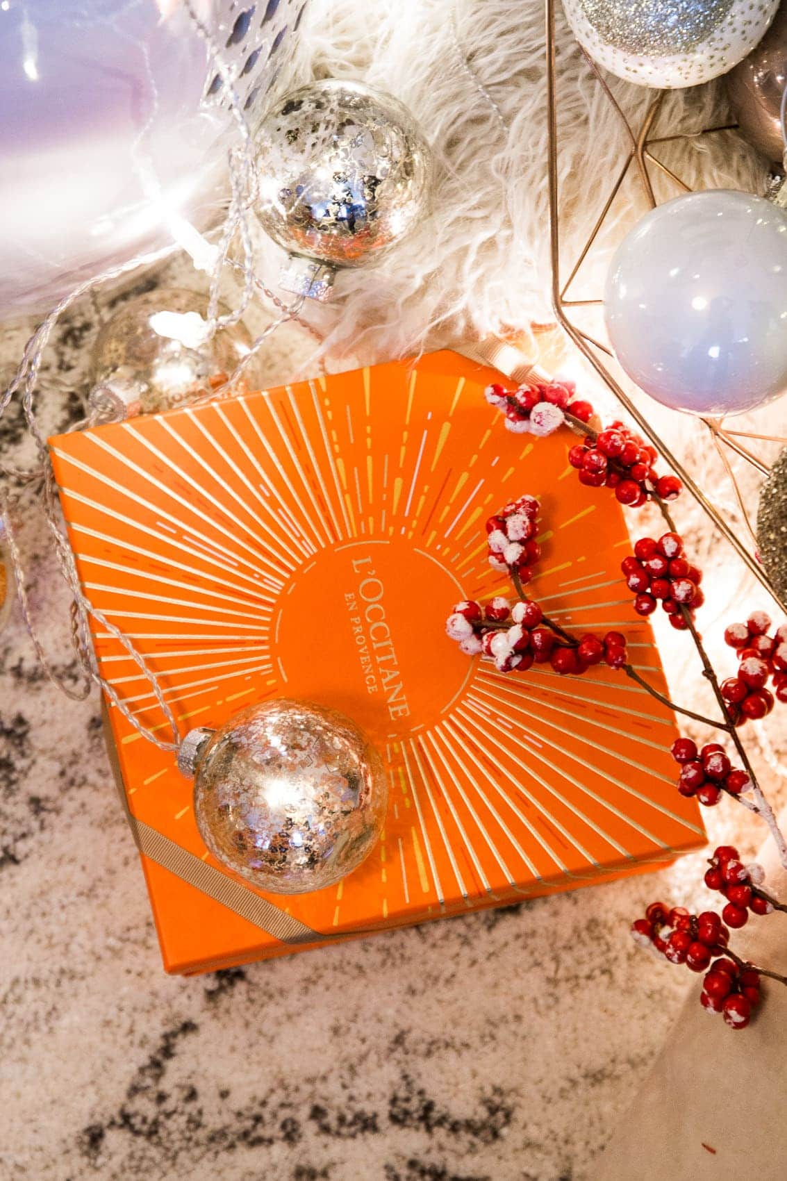 Des Belles Choses Adventskalender Türchen 2: L'Occitane Geschenkset