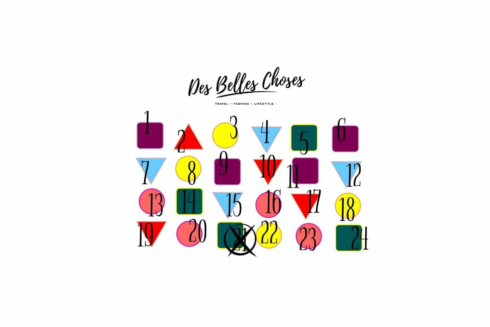 Des Belles Choses Adventskalender Türchen 21: Melvita Geschenkset