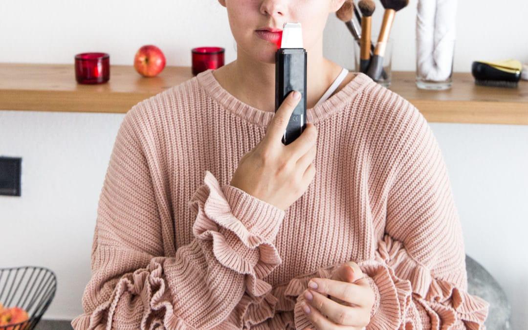 Kosmetikgeräte von Clubsante – La Belle Ultrasound Peeling Gerät im Test