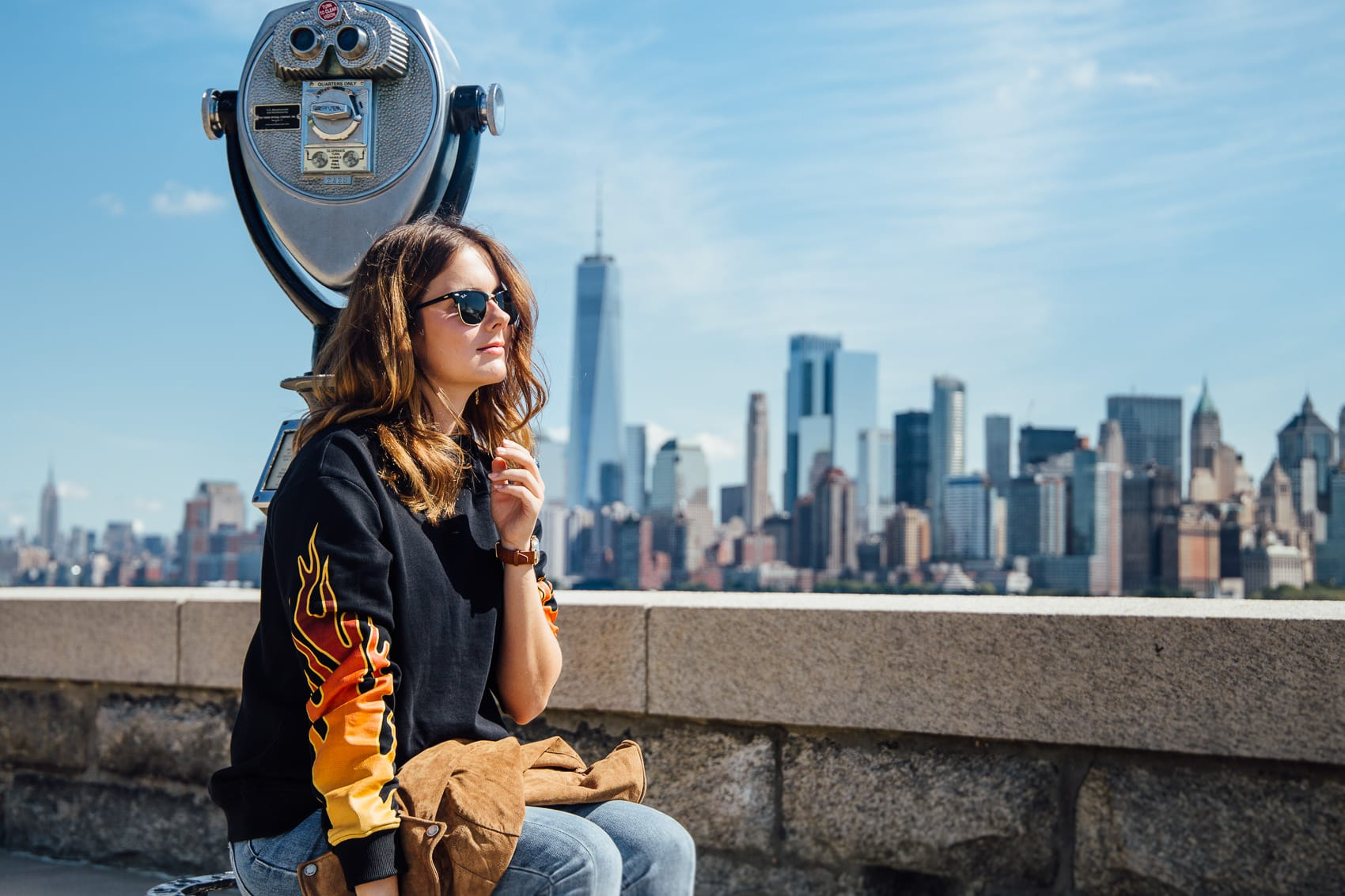 New York City Streetstyle und der beste Blick auf ganz Manhattan