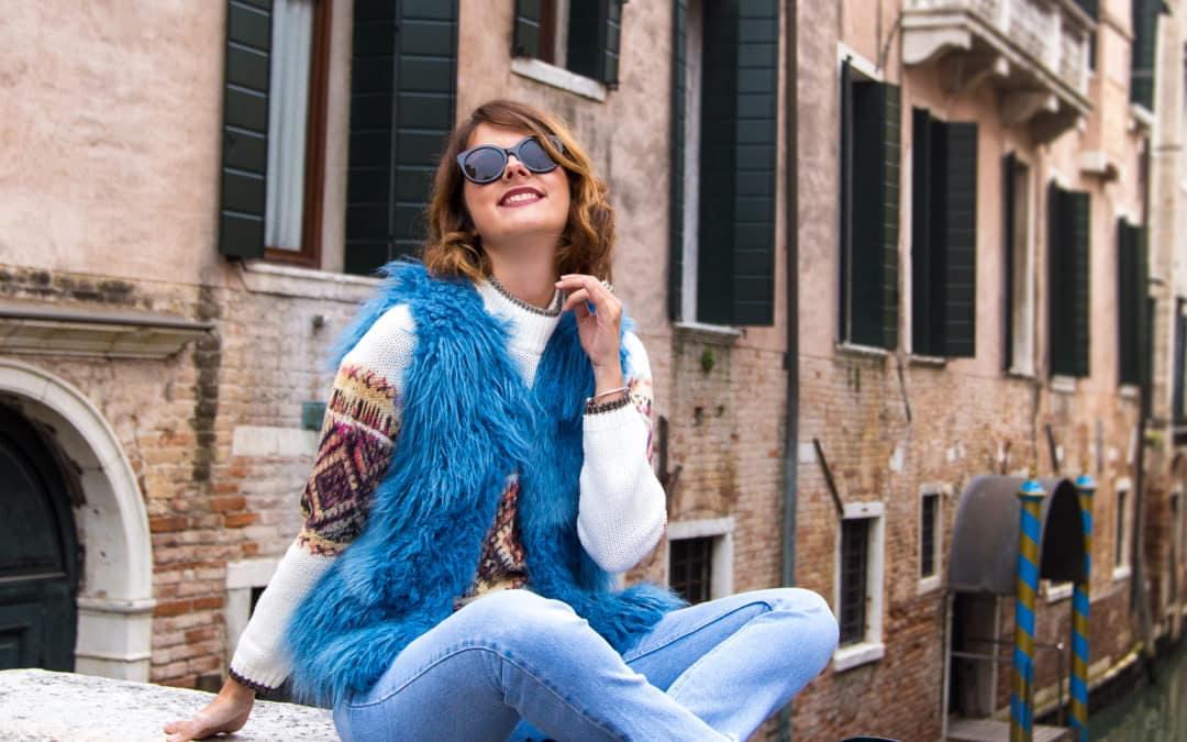 Venedig Streetstyle: Die letzten Herbsttage in Italien