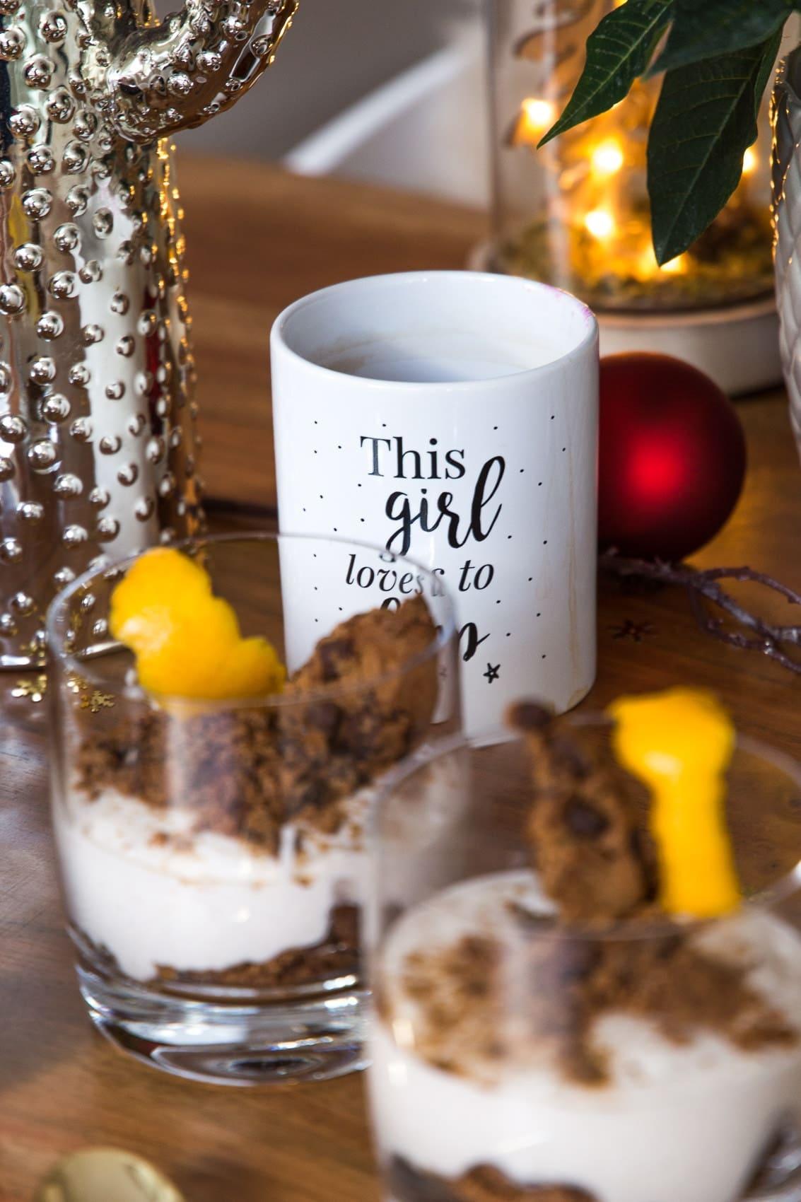 24 Days of Christmas Blogging - Weihnachtliches Cookies Dessert
