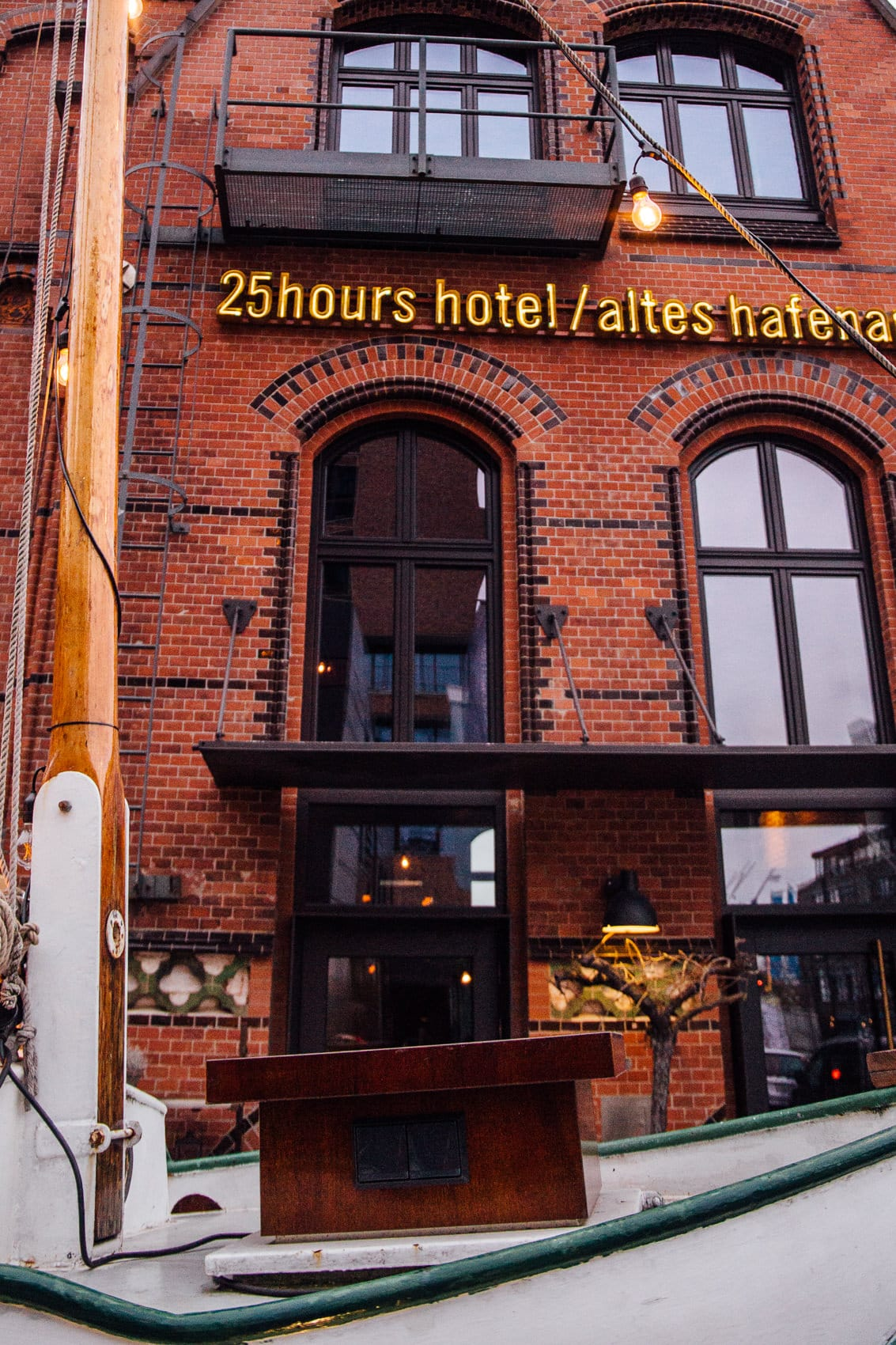 25hours Altes Hafenamt Neni - Mezze & Co. im Überseequartier Hamburg
