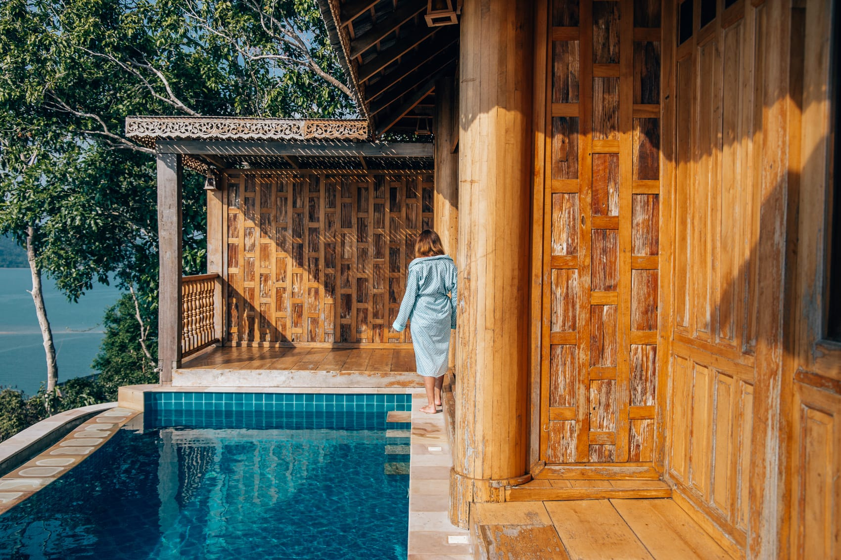 Der perfekte Start in den Urlaubstag mit Miss Möve - Koh Yao Yai Resort mit Pool Villa
