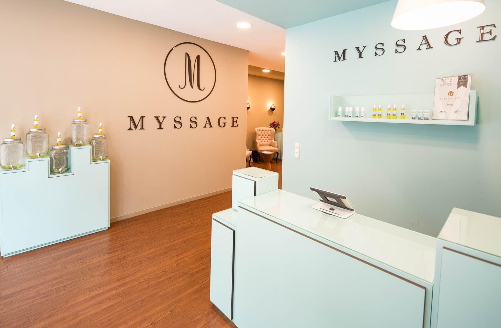 30 Minuten Entspannung im stressigen Alltag dank Massagen bei MYSSAGE Düsseldorf