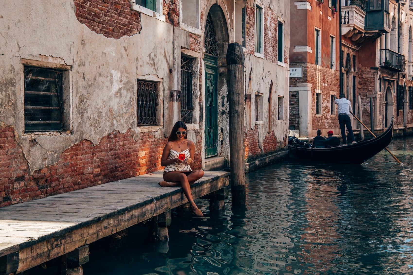 Die Lagunenstadt Venedig 1986 und 2018 - Ein Fototagebuch