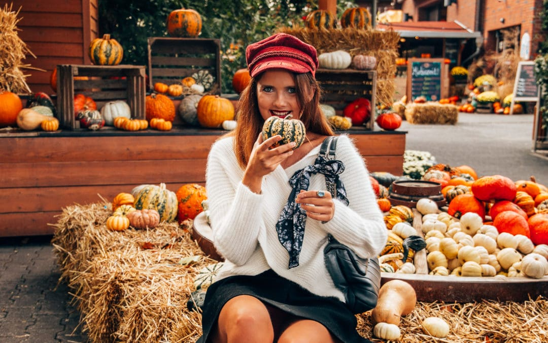 Herbst Trends 2018 – Outfit Inspiration mit Bakerboy Mütze