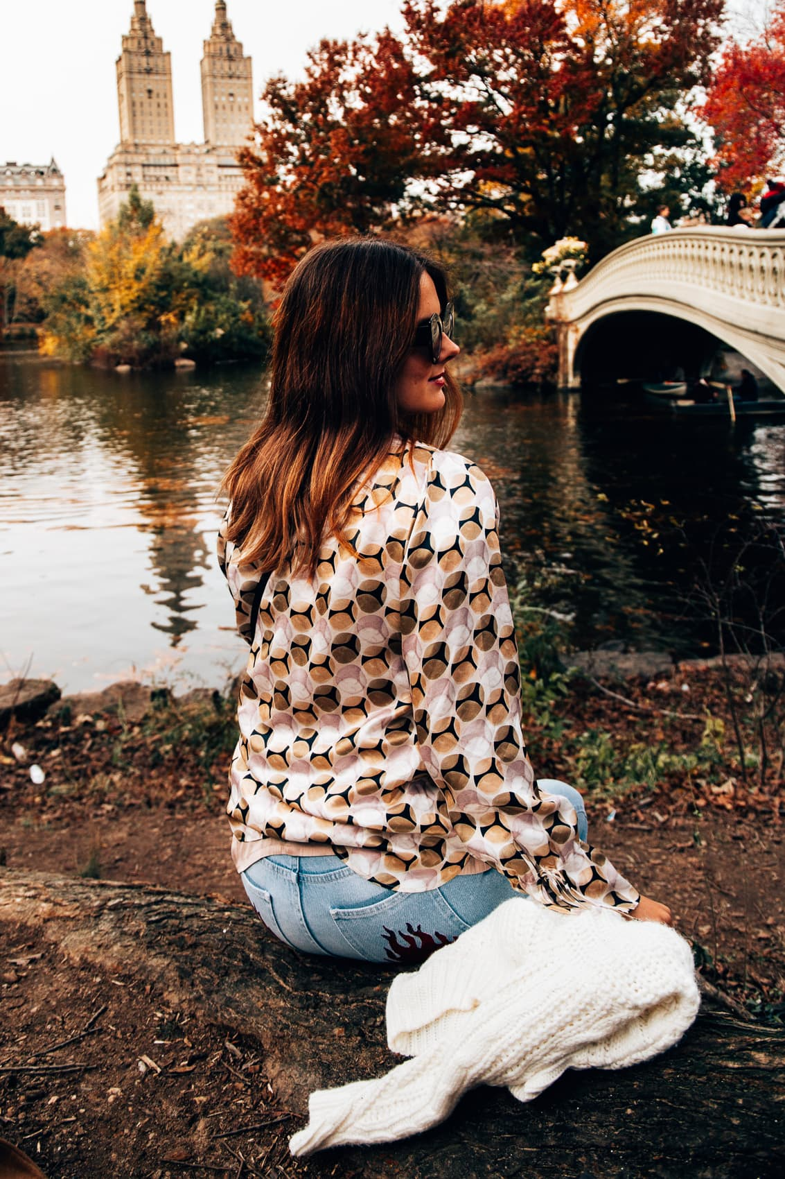 Eterna Seidenbluse im Central Park + 200 Euro Gutschein gewinnen