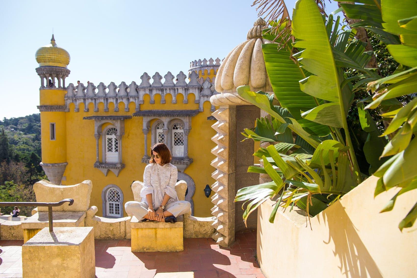 Palacio Nacional de Pena - die schönsten Fotospots in Sintra/ Portugal