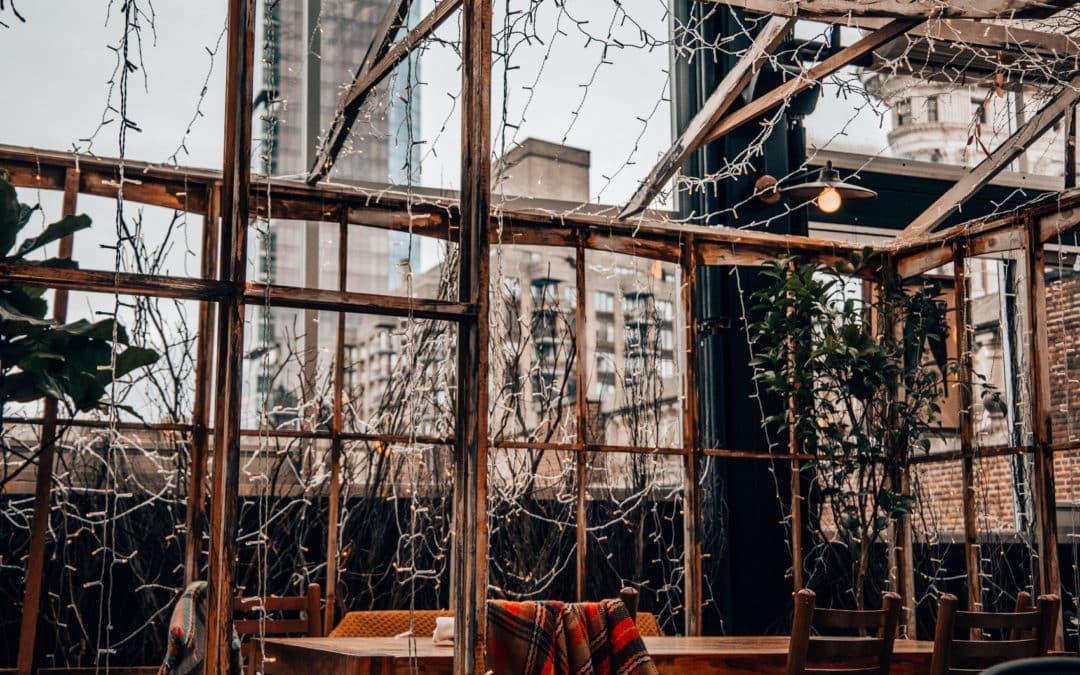 """""""Serra on the Roof"""" by Birreria – Essen im Eataly mit Blick auf Flatiron"""