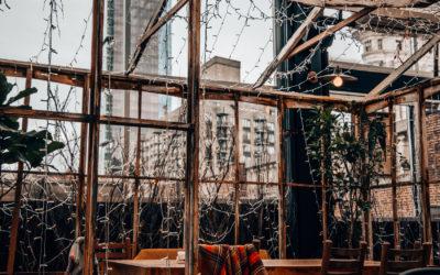 """""""Serra on the Roof"""" by Birreria - Essen im Eataly mit Blick auf Flatiron"""