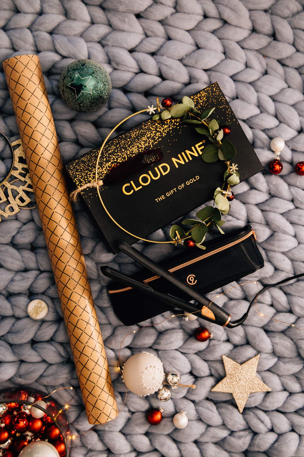Adventskalender Türchen 22: Cloud Nine Glätteisen im Wert von 209 Euro