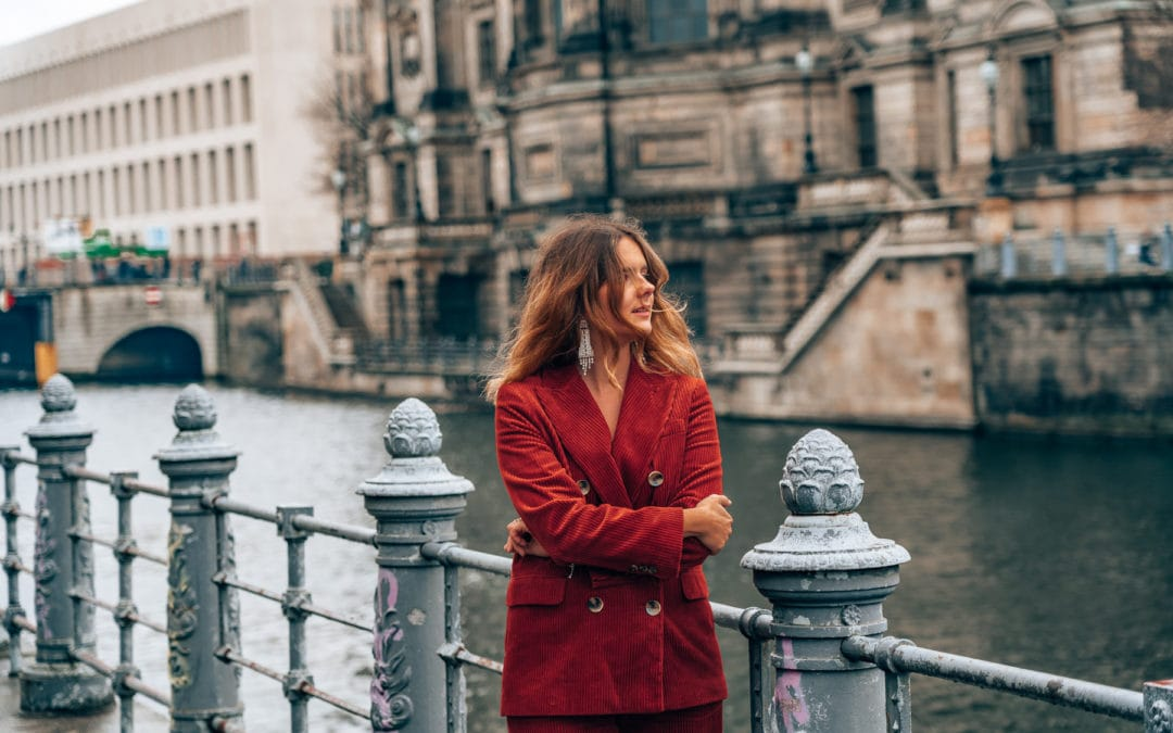 Mein Silvester Outfit 2018 – Roter Kord Anzug von Zara