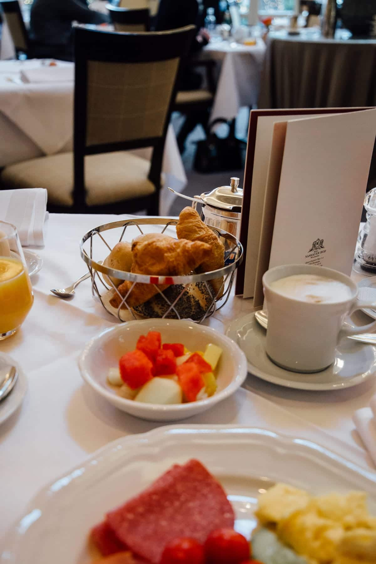 Ein Gourmet-Wochenende im Hotel Nassauer Hof Wiesbaden