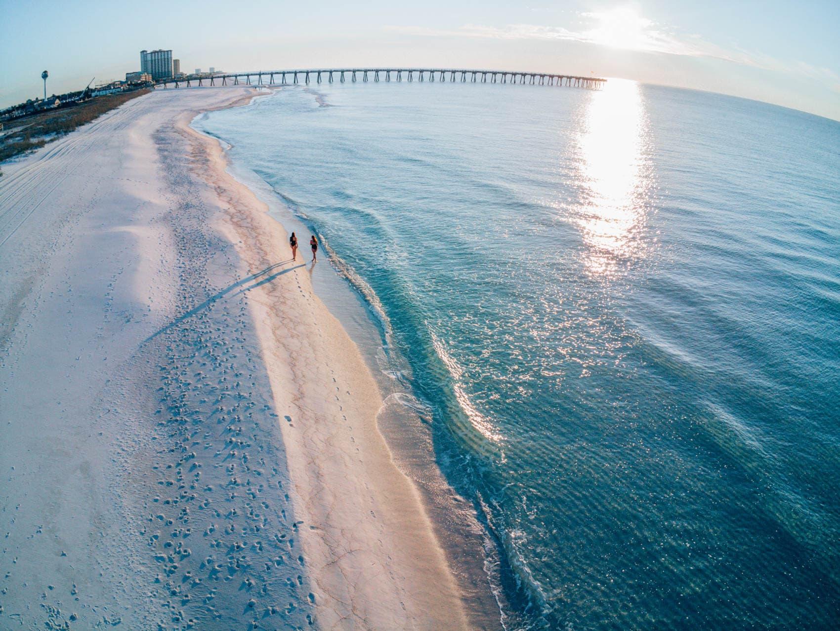 Florida Panhandle Rundreise - Mit dem Auto entlang der Golfküste