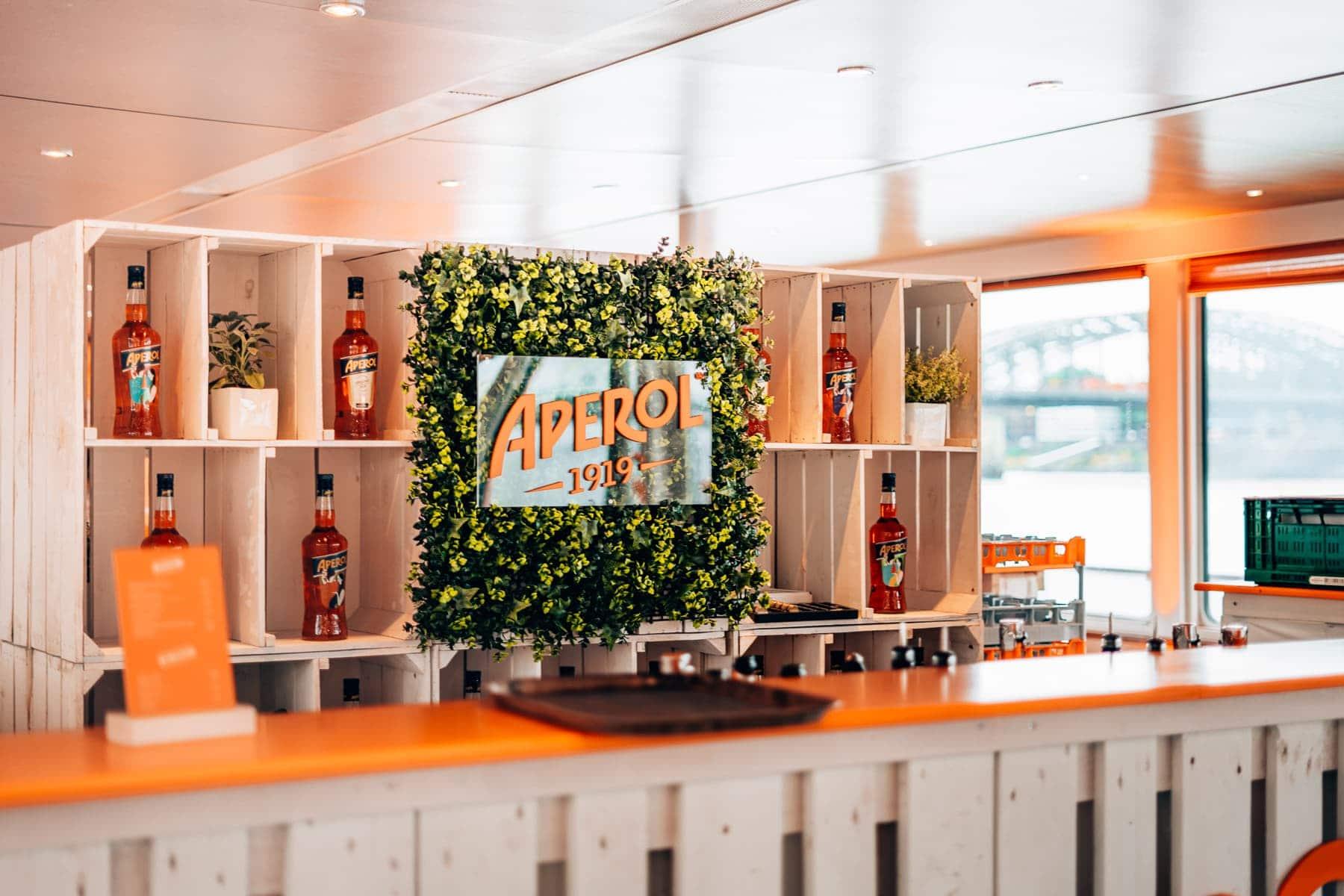 Aperol meets Kölle - Sundowner Bootsfahrt zum 100. jährigen Jubiläum