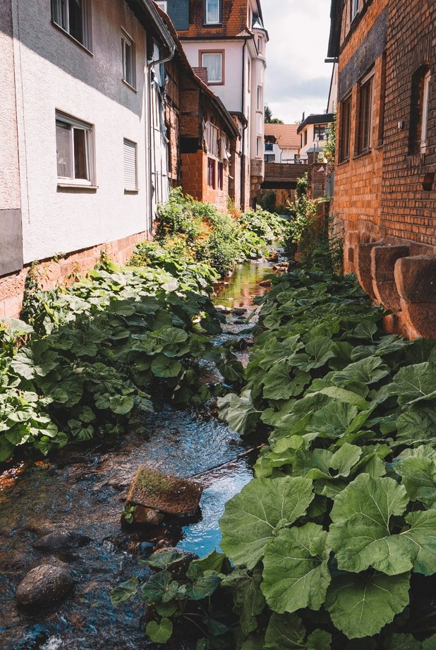 Rhön Urlaub - Städtereise nach Gersfeld