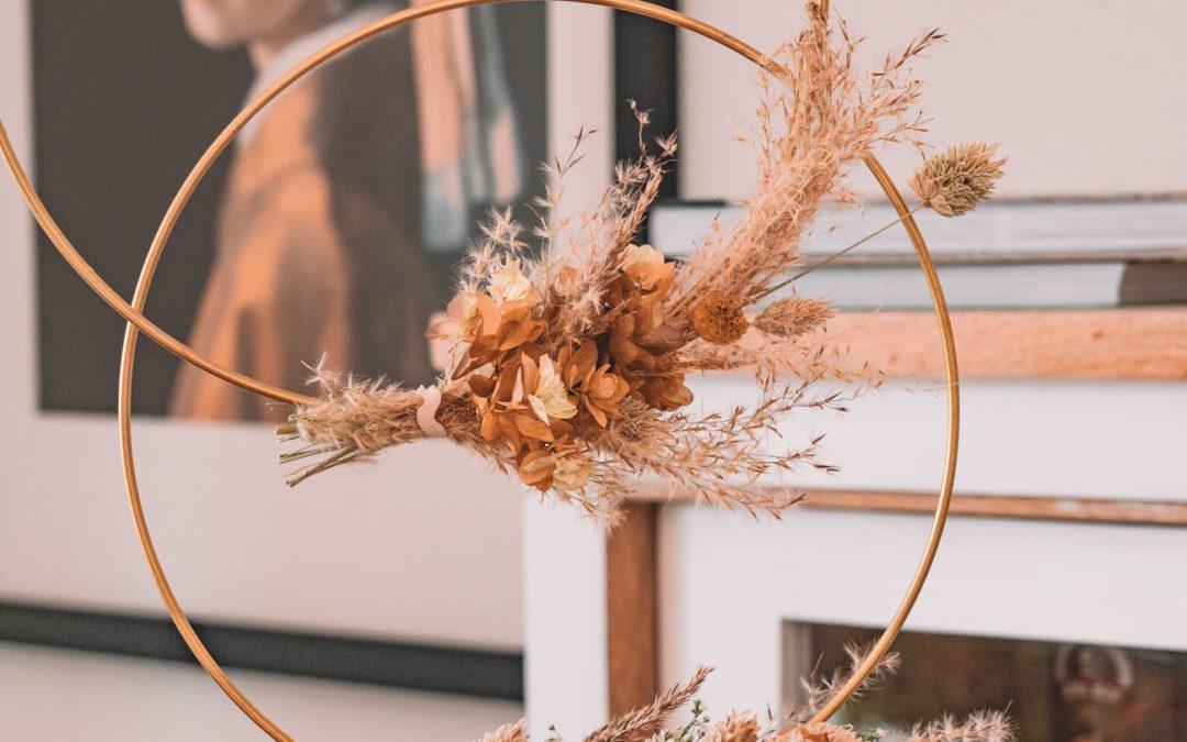 Herbstdeko basteln – 5 schnelle DIY Ideen mit Trockenblumen