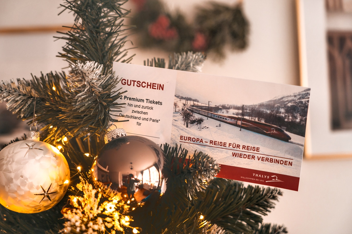Adventskalender Türchen 17: Reise mit Thalys nach Paris für 2 Personen