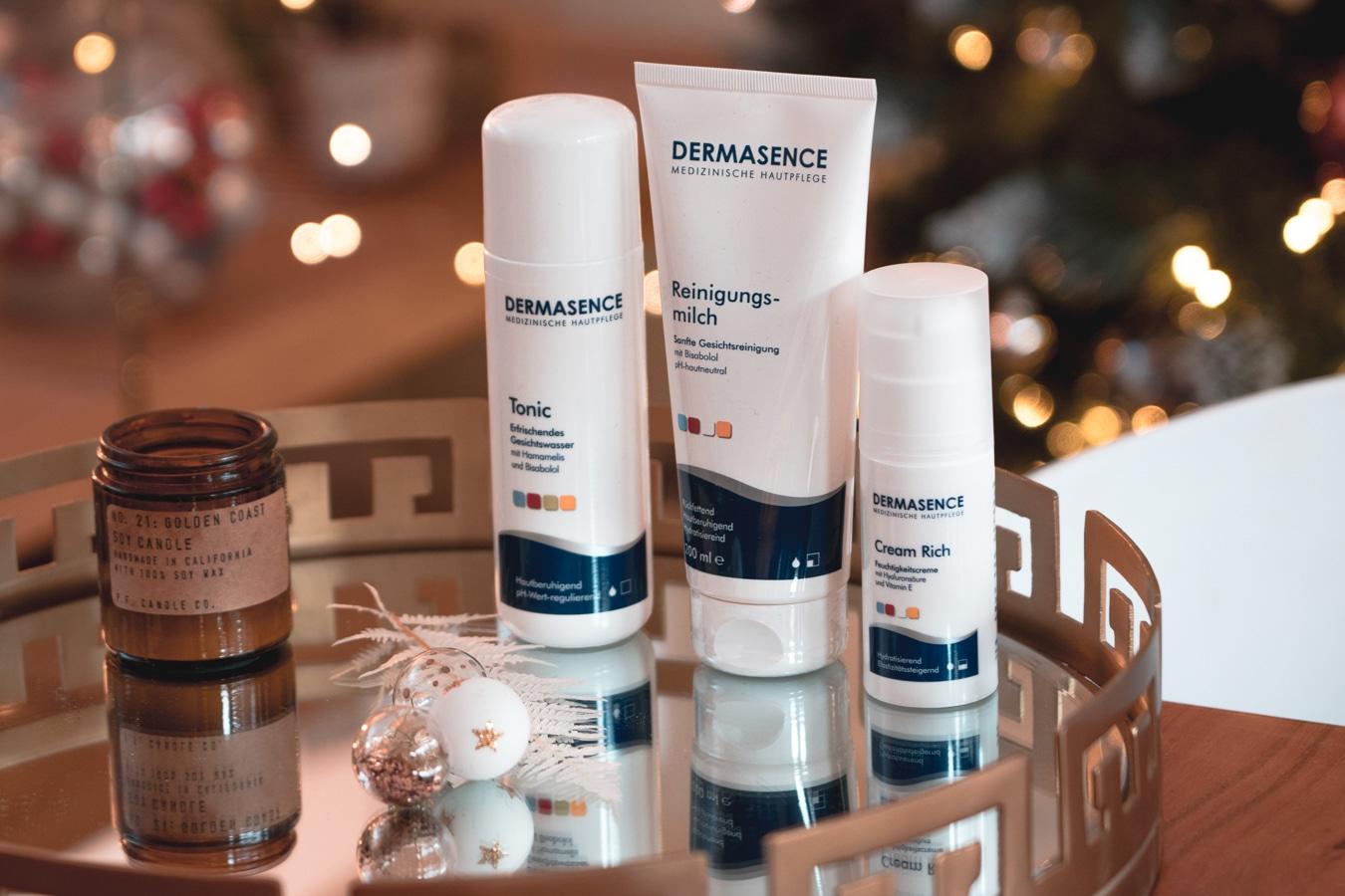 Adventskalender Türchen 4: Dermasence Hautpflege-Set