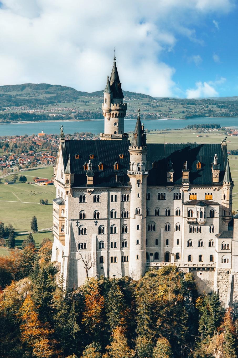 Roadtrip durch Süddeutschland: Zweiter Stop Schloss Neuschwanstein